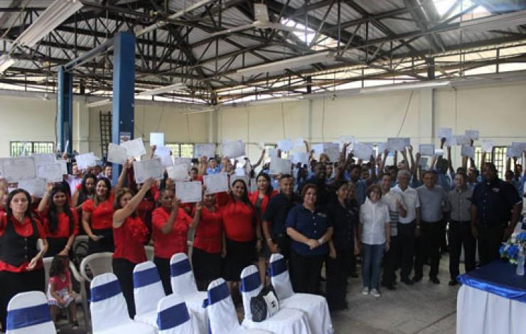 Centro de Formación Profesional La Ceiba Clausura Cursos 2017